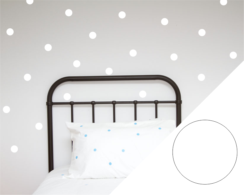 Polka Dot Wall Stickers - Large