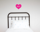 Love Heart Wall Decal