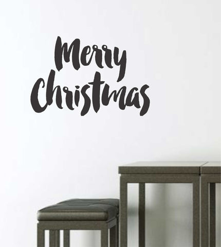 Merry Christmas Quote Wall Decal