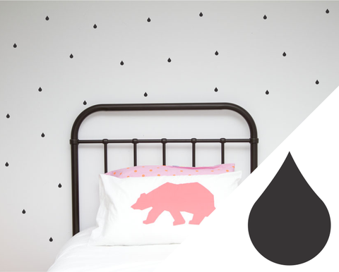 Mini Drips Wall Stickers - Wall decals - 100 Percent Heart