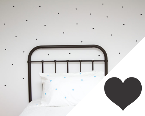 Hearts Wall Stickers - Minis