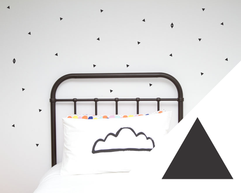 Mini Triangle Wall Stickers