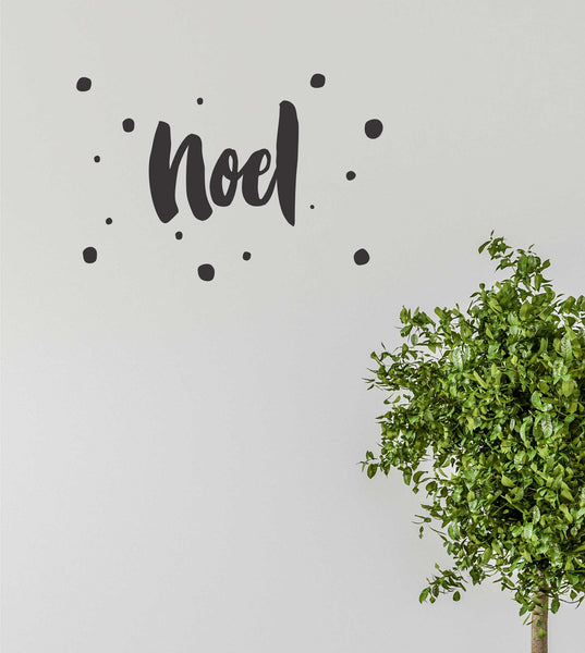Noel Quote Wall Decal