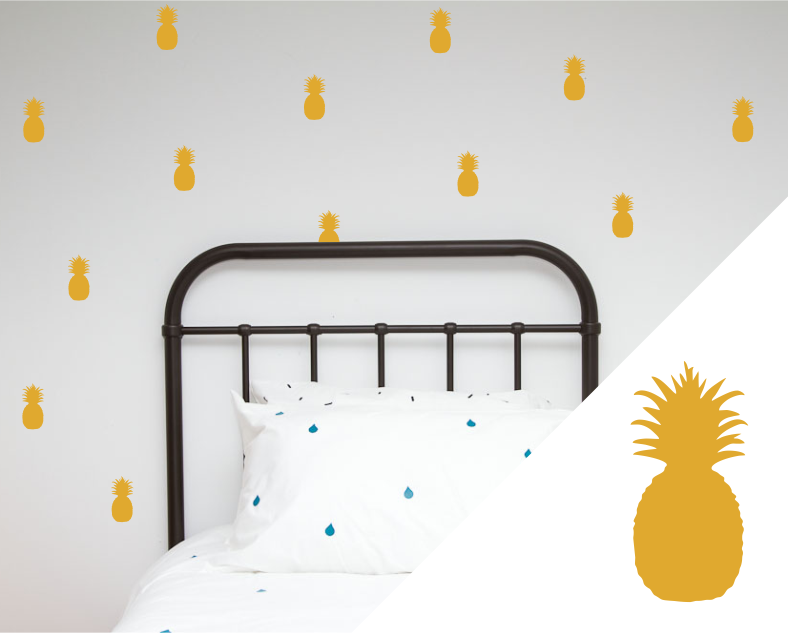 Pineapples Wall Stickers
