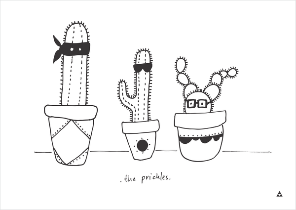 The Prickles Art Print