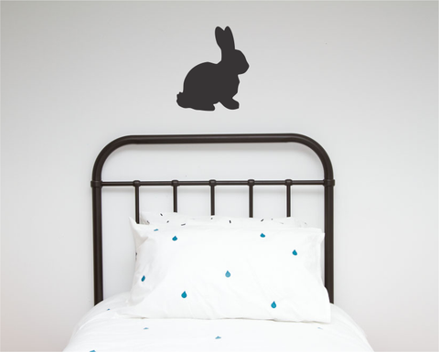 Rabbit Single Wall Sticker - Wall decals - 100 Percent Heart