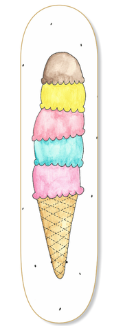 Ice Cream Skateboard Deck