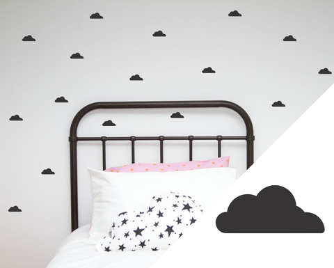 Cloud Wall Stickers - Small - Wall decals - 100 Percent Heart