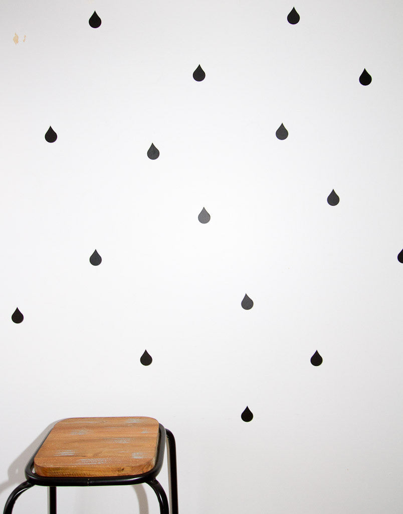 Small Drips Wall Stickers - Wall decals - 100 Percent Heart