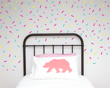 Confetti Wall Stickers - Wall decals - 100 Percent Heart
