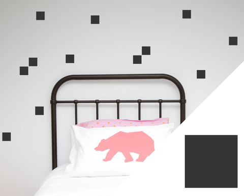 Squares Wall Stickers - Wall decals - 100 Percent Heart