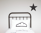 Star Single Wall Sticker - Wall decals - 100 Percent Heart