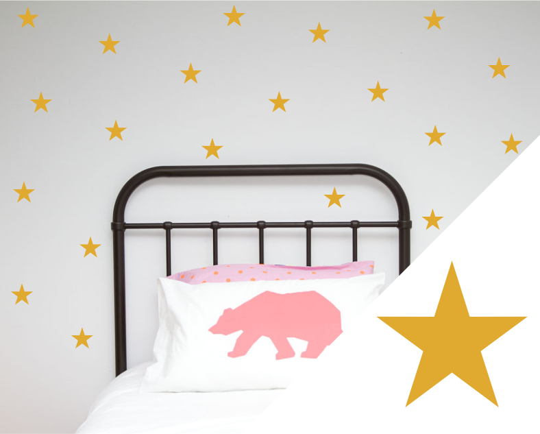 Stars Wall Art Stickers