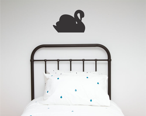 Swan Single Wall Sticker - Wall decals - 100 Percent Heart