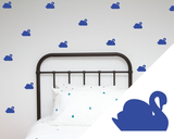 Swans Wall Stickers - Wall decals - 100 Percent Heart