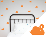 Swans Wall Stickers