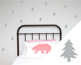 Trees wall art stickers