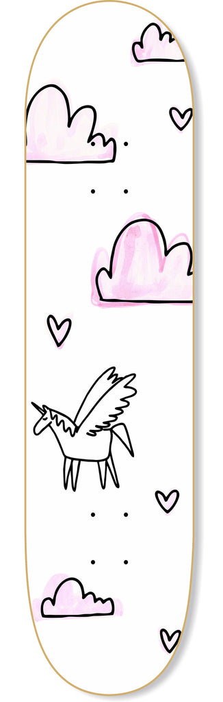 Unicorn Dreams Skateboard