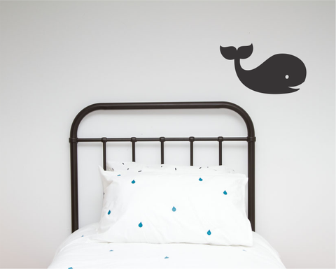 Whale Single Wall Sticker