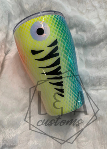 Fishing Lure Tumbler