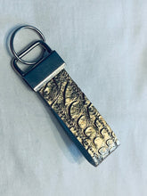 Load image into Gallery viewer, Faux Leather Key Fab