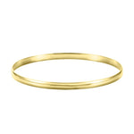 14K Gold Bangle (Engrave-able)