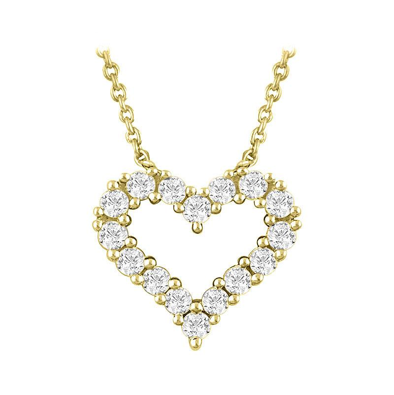 """From the Heart"" Diamond Necklace"