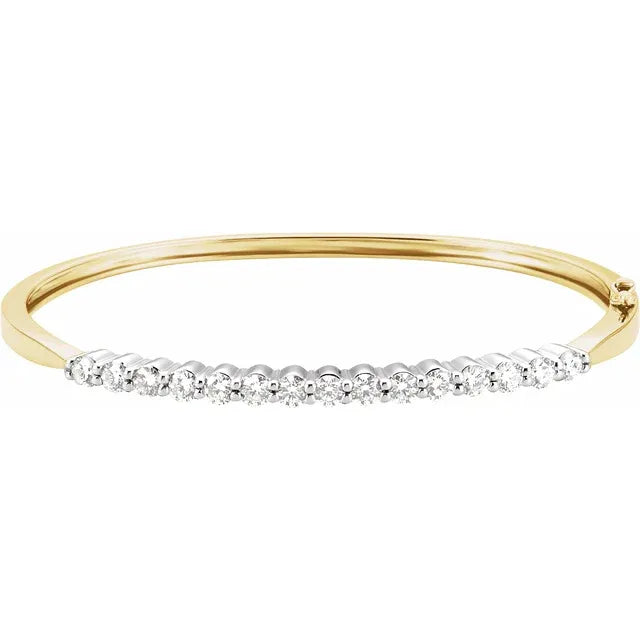 Royal Diamond Bangle
