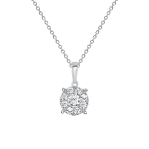 Frost Yourself Diamond Necklace