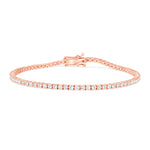 White Gold Tennis Diamond Bracelet