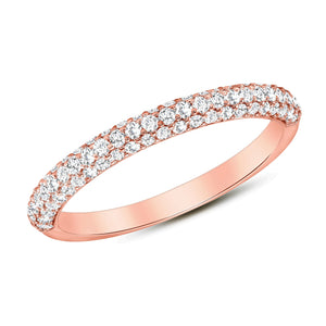 Rose Gold Lucky Diamond Ring
