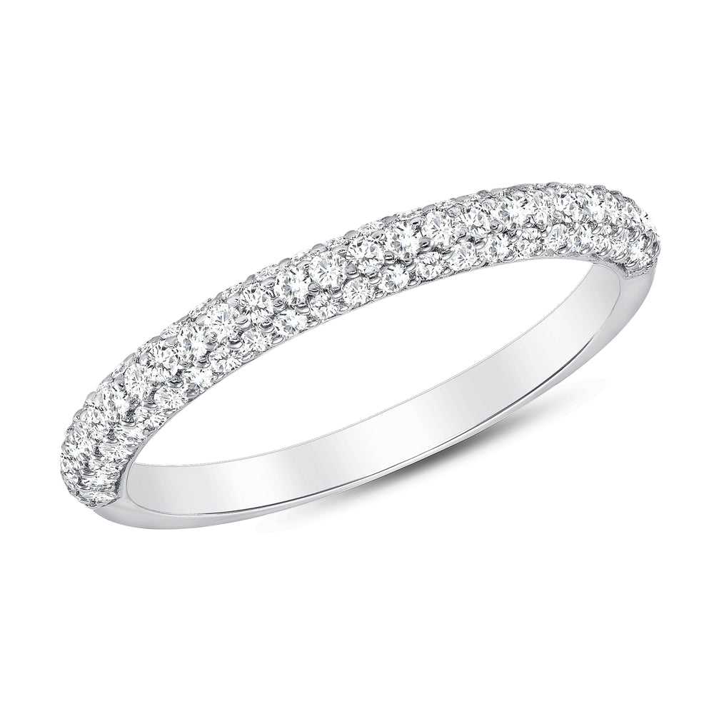 White Gold Lucky Diamond Ring
