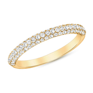 Yellow Gold Lucky Diamond Ring