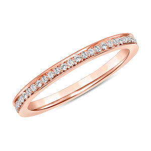 Rose Gold Makai Diamond Ring