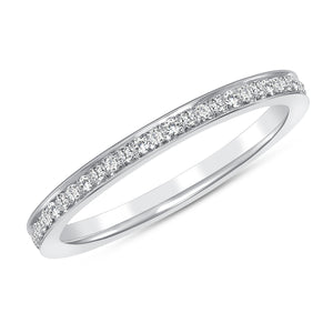 White Gold Makai Diamond Ring