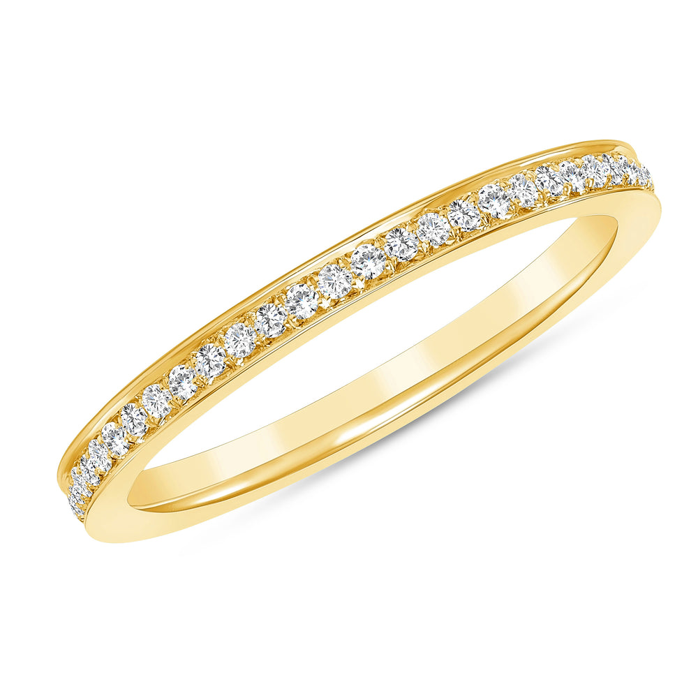 Yellow Gold Makai Diamond Ring