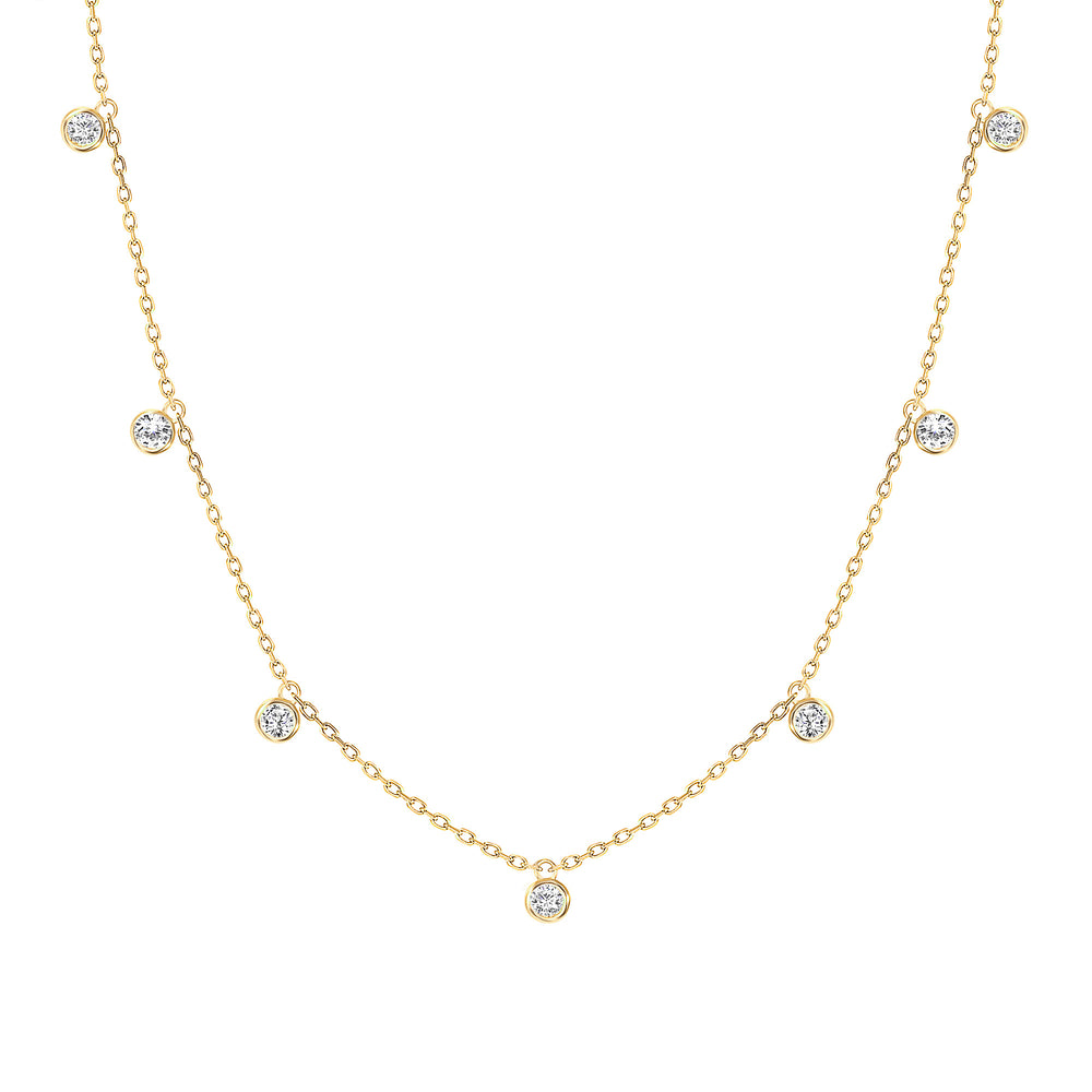 Mimosa Diamond Necklace