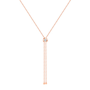 Rose Gold Rodeo pendant necklace