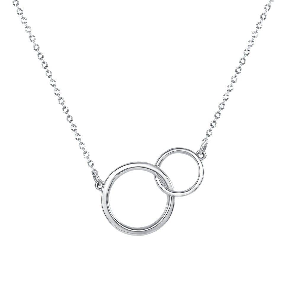 Interlock Circle Necklace