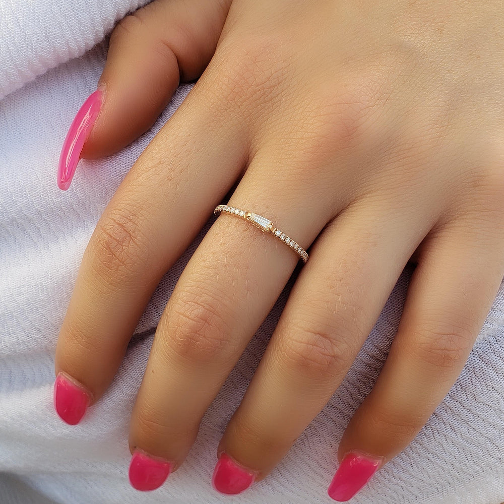 Royalty Baguette Diamond Ring