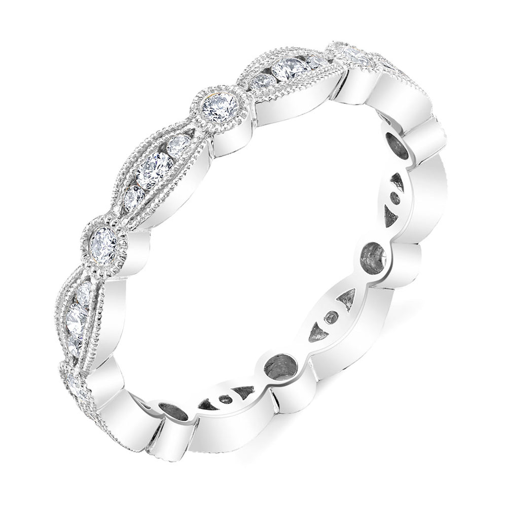 Carousel Diamond Eternity Ring