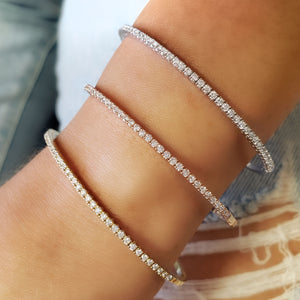diamond bangle set