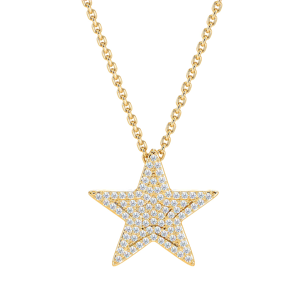 Star Diamond Necklace