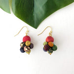 Kantha Drop Earrings