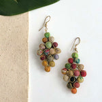 Kantha Diamond Earrings