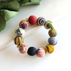 Load image into Gallery viewer, Kantha Trio Bracelet
