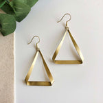Folded Triangle Hoops