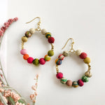 Kantha Timeless Hoops