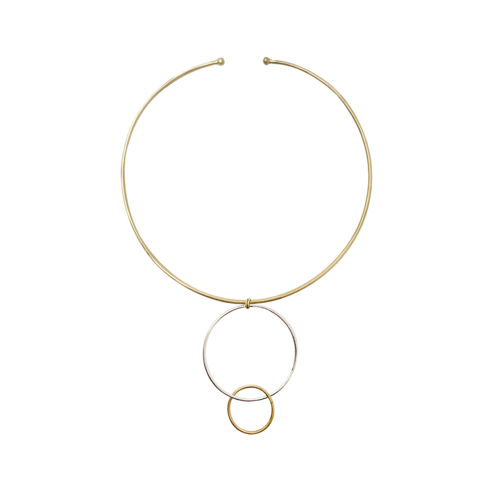 Encircled Collar Necklace