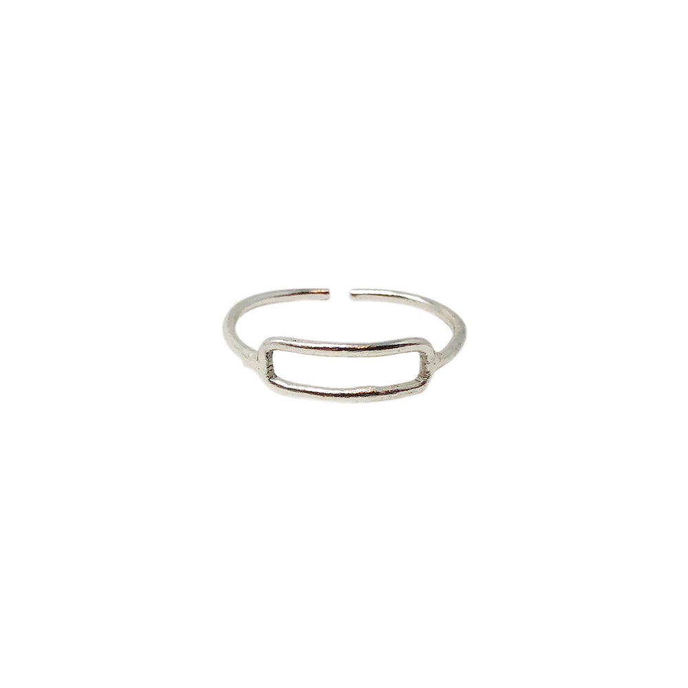 Rippled Rectangle Ring